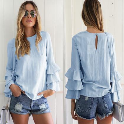 Casual Tops and Blouses For Women S..