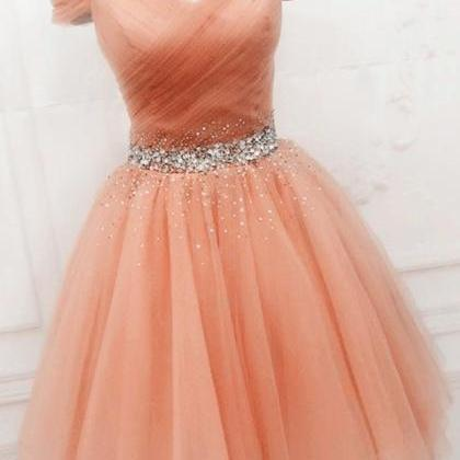 Pearl Pink Homecoming Dresses ,Vint..