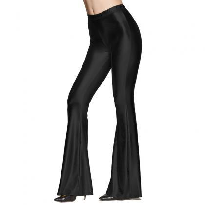 Fashion Women Sequined Flare Pants ..