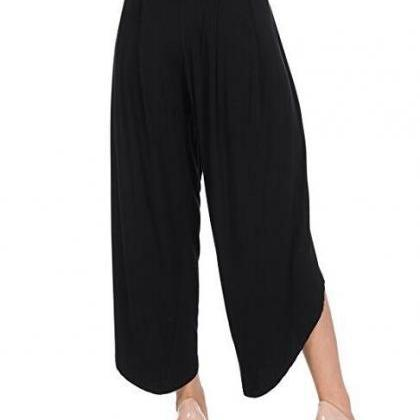 New Irregular Wide Leg Pants Women ..