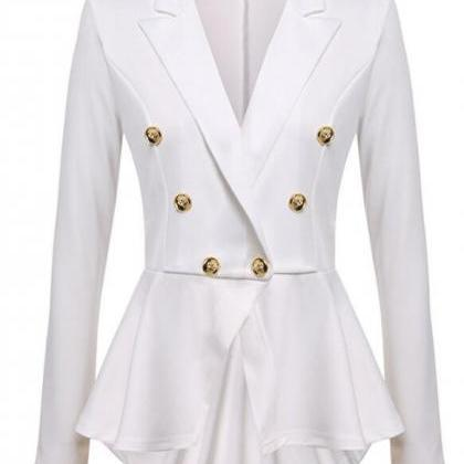 Women Slim Suit Coat Spring Autumn..