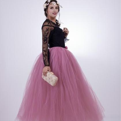 Puffty Women Tulle Tutu Skirt High ..