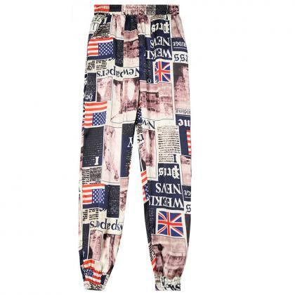 Women Harem Pants Summer Beach Ela..
