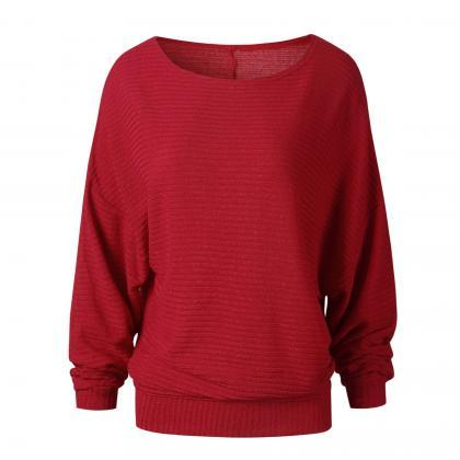Women Knitted Sweater Spring Autumn..