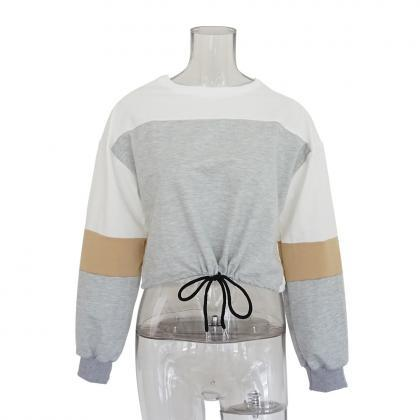 Women Casual Sweatshirt Autumn O Ne..
