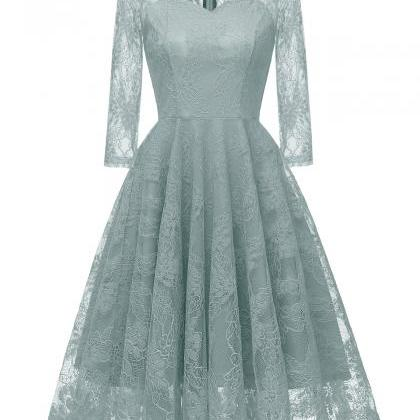 Vintage Floral Lace Dress Autumn 3/..