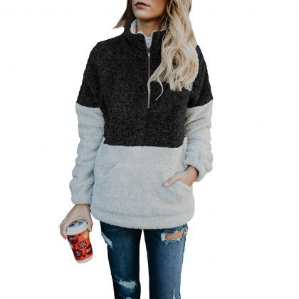 Women Sweatshirt Autumn Winter Warm..