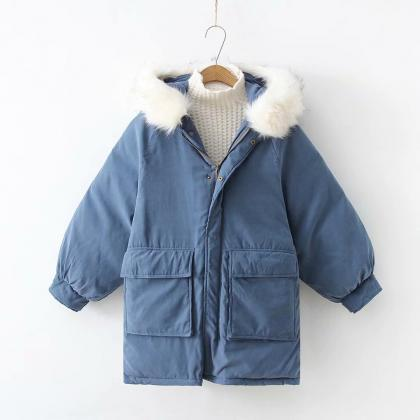 Women Parkas Coat Winter Warm Thick..