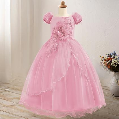 Off The Shoulder Flower Girl Dress ..