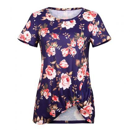 Women Short Sleeve T Shirt O Neck S..