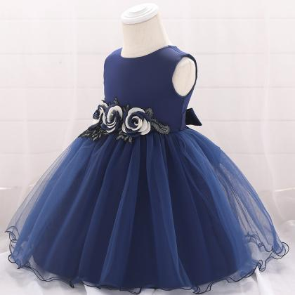 Baby Girls Dress Flower Tutu Prince..