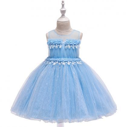 Lace Flower Girl Dress Princess For..