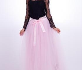 6 Layers Tulle Skirt..
