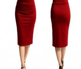 Slim Pencil Skirt H..