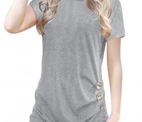 Women T-Shirt Casual..