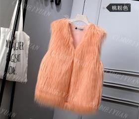 Women Faux Fur Vest ..
