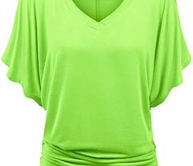 Women T Shirt V Neck..
