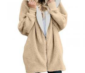 Women Plush Coat Aut..