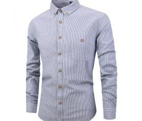 Men Striped Shirt F..