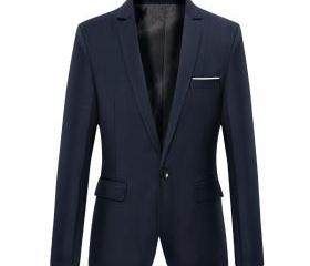 Men Blazer Coat Long..