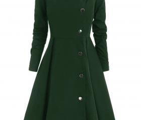 Women Trench Coat Au..