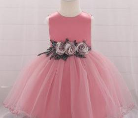 Baby Girls Dress Flo..