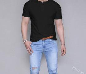 Mens Short Sleeve T ..