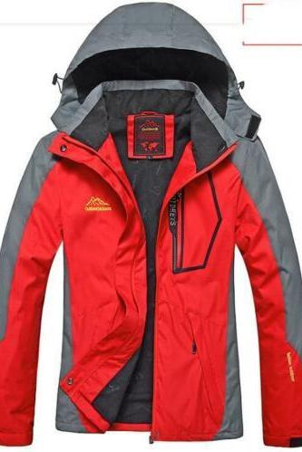 Women Winter Ski Snow Warm Outdoor Sports Jacket Coat Thicken Outwear Coat red