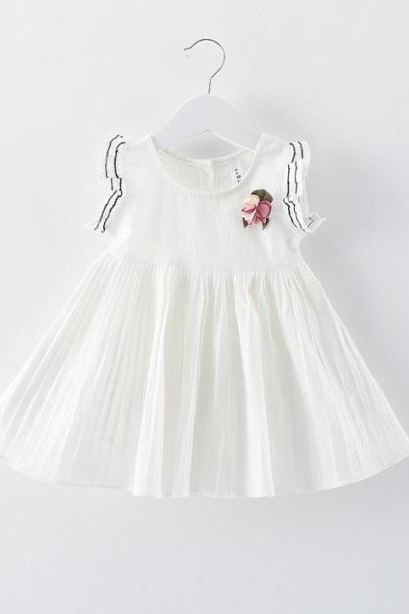 Children clothes, children skirts, summer girls dresses, summer children princess baby cotton skirts