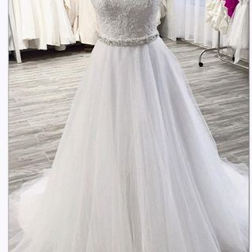 A-line Luxury Jewel Wedding Dress Crystal Sweetheart Beaded Court Train Gothic Unique Puffy Bridal Dresses