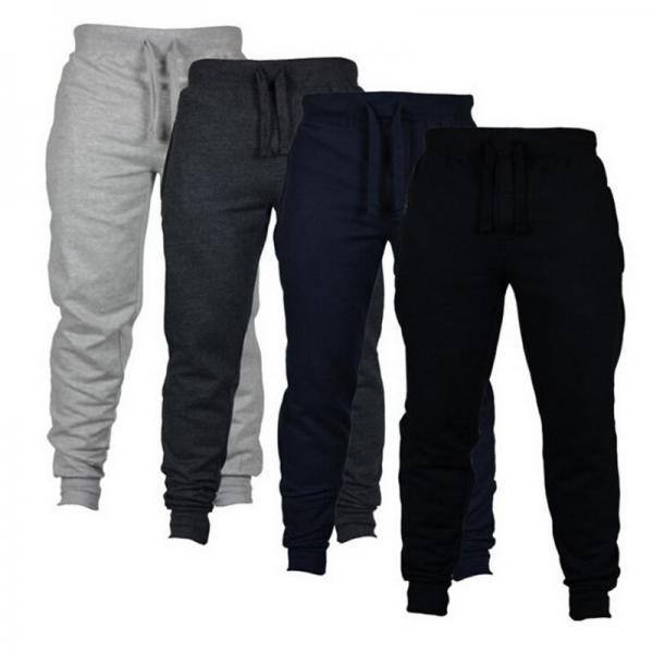 Mens Joggers Casual Pants Fitness Sportswear Tracksuit Bottoms Skinny Sweatpants Gyms Jogger Track Trousers