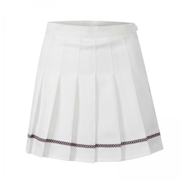 Spring 2021 new Korean women fall/winter pleated skirt college style high waist short skirt anti-glare A-line skirt